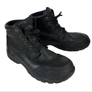 The North Face Leather Waterproof Insulated Boots